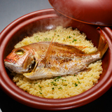 雲海|天然鯛を使用した鯛めし御膳