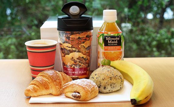 朝食テイクアウト