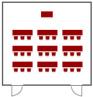 全室 (着席スクール27席の例)